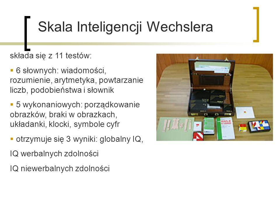Skala Inteligencji Wechslera