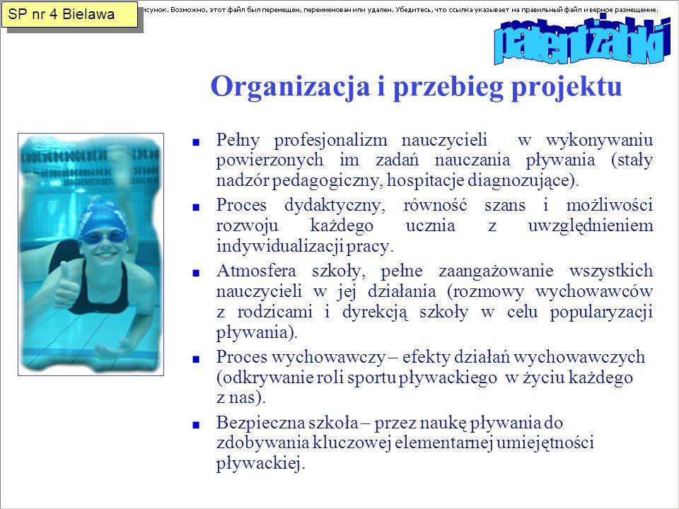 Organizacja i przebieg projektu