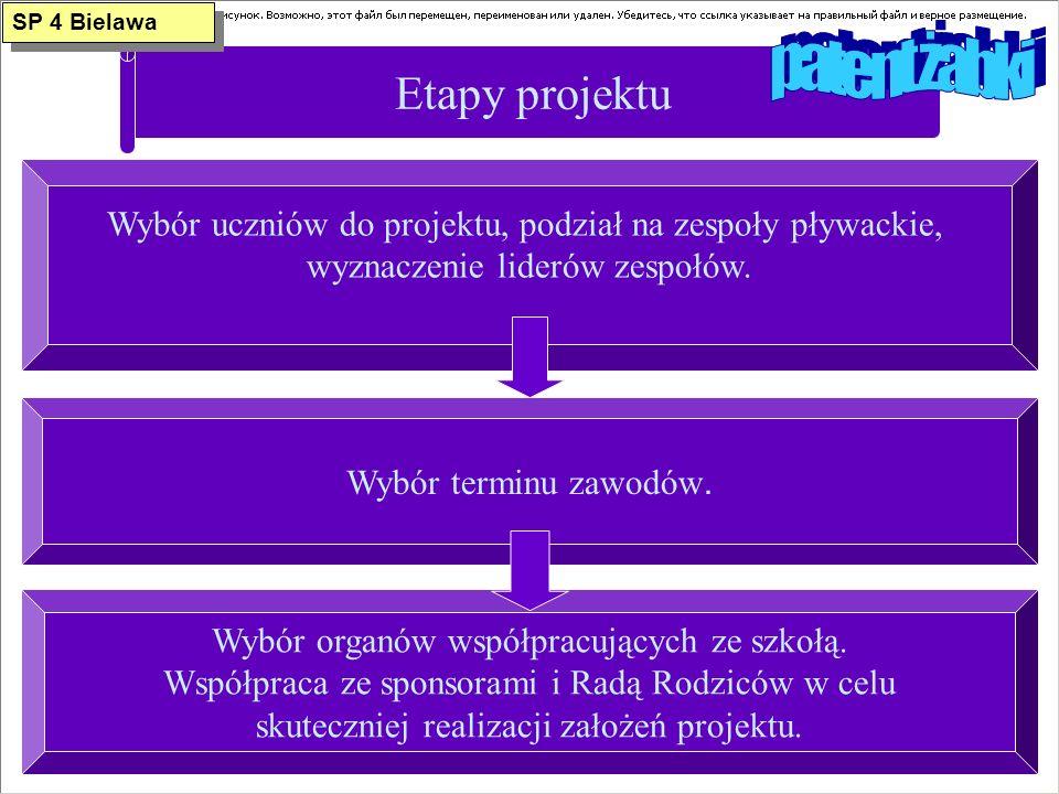 patent żabki Etapy projektu