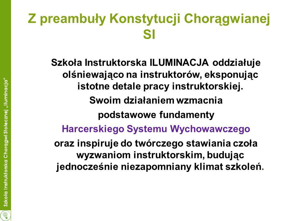 Z preambuły Konstytucji Chorągwianej SI