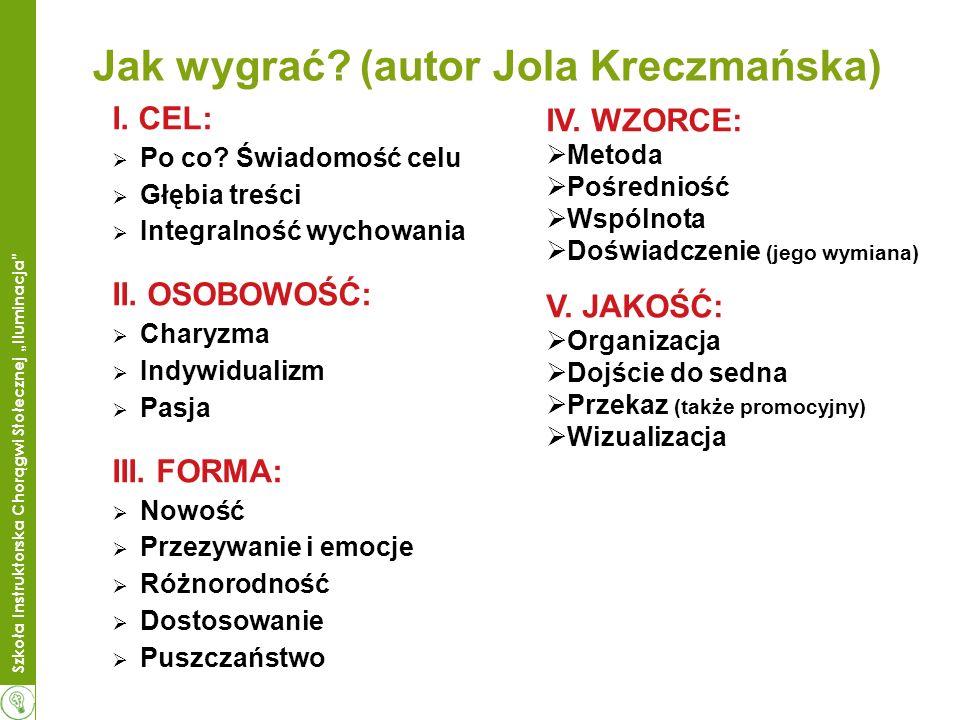Jak wygrać (autor Jola Kreczmańska)