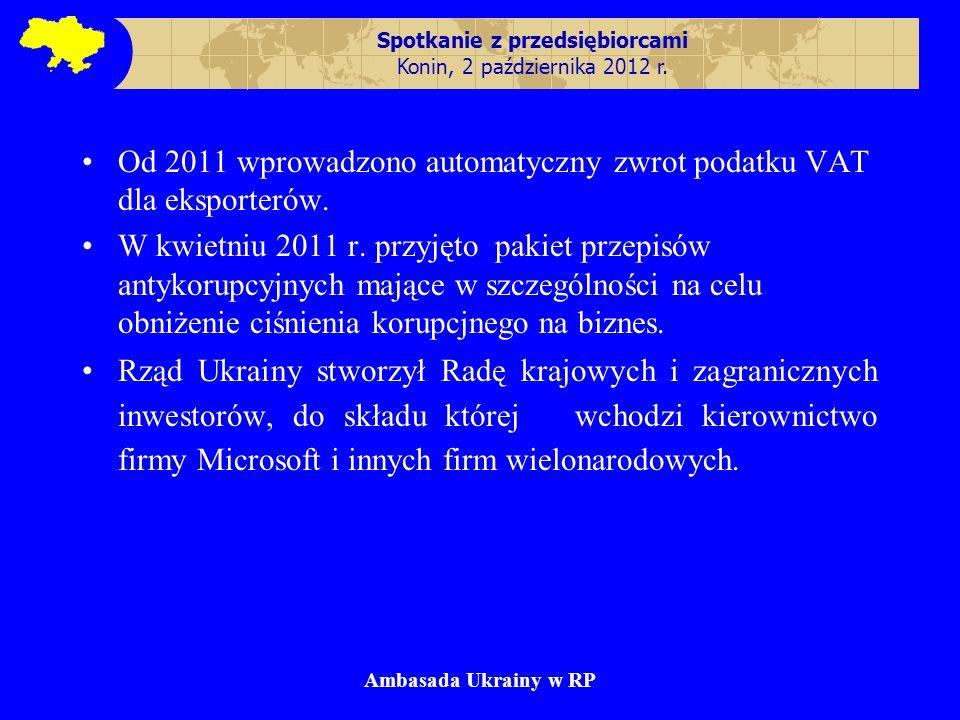 Spotkanie z przedsiębiorcami Konin, 2 października 2012 r.