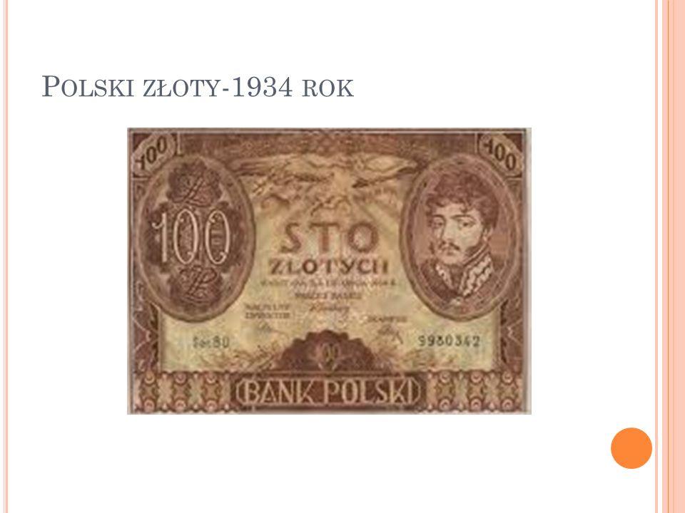 Polski złoty-1934 rok