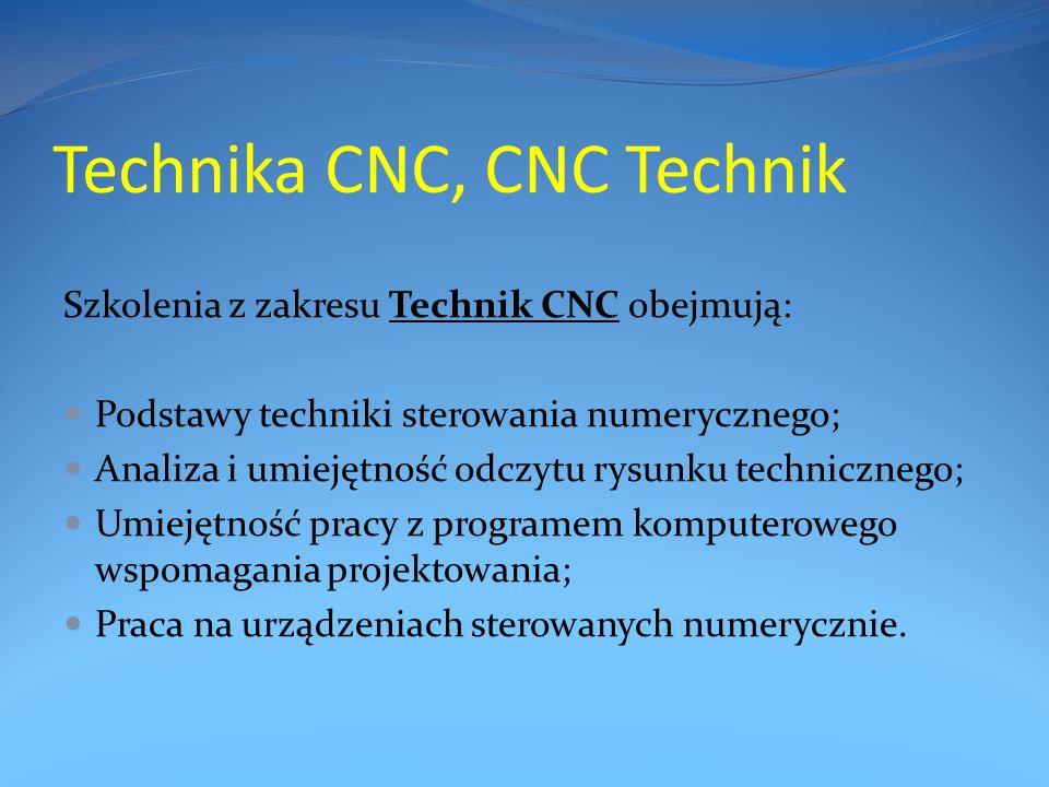 Technika CNC, CNC Technik