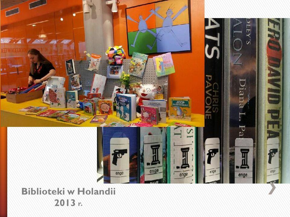 Biblioteki w Holandii 2013 r.