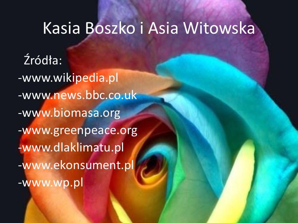 Kasia Boszko i Asia Witowska