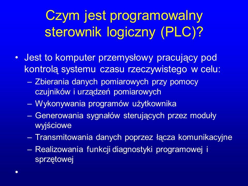 Czym jest programowalny sterownik logiczny (PLC)