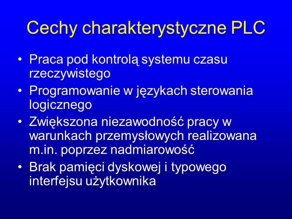 Cechy charakterystyczne PLC