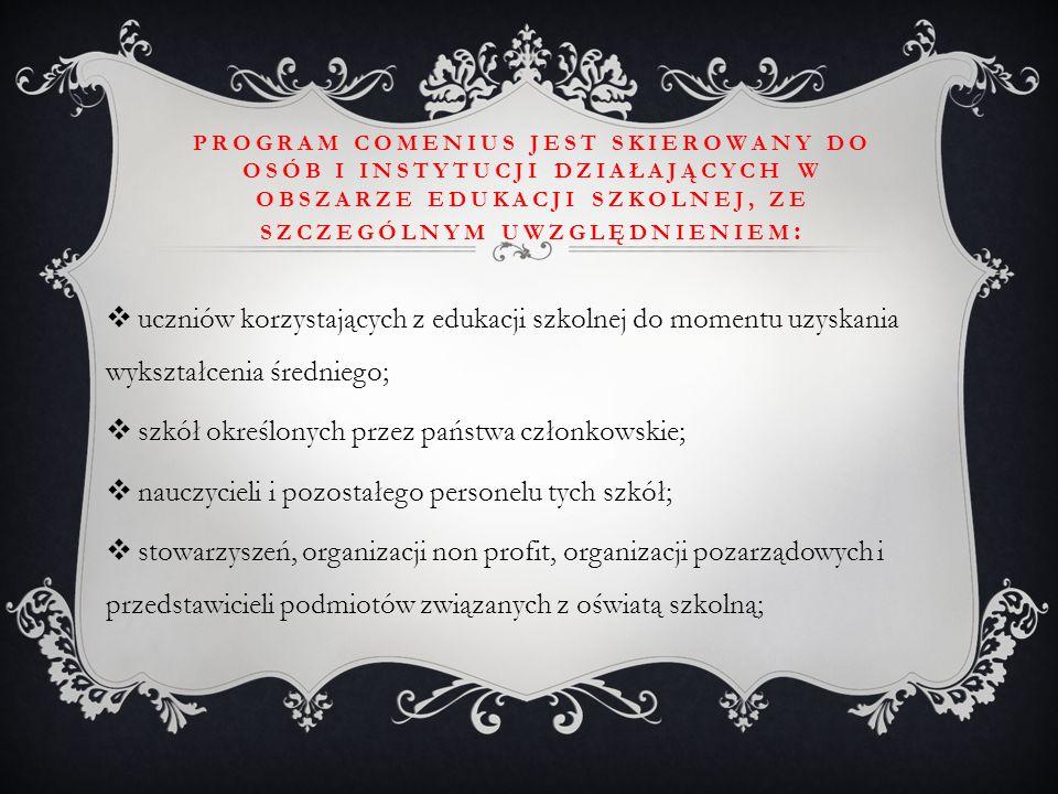 szkół określonych przez państwa członkowskie;