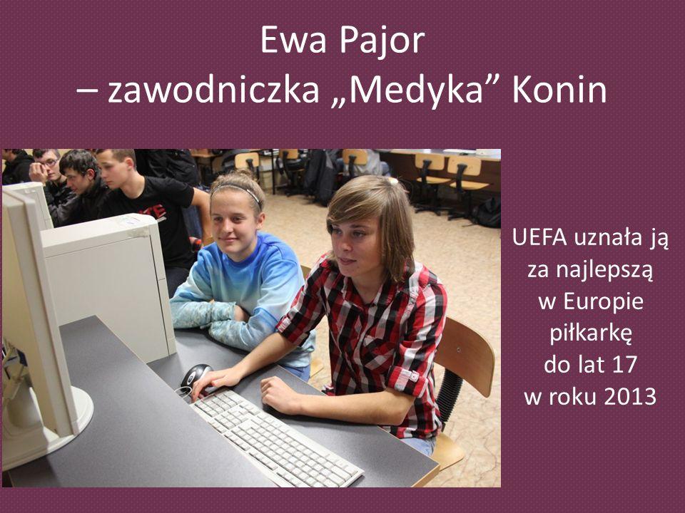 """Ewa Pajor – zawodniczka """"Medyka Konin"""