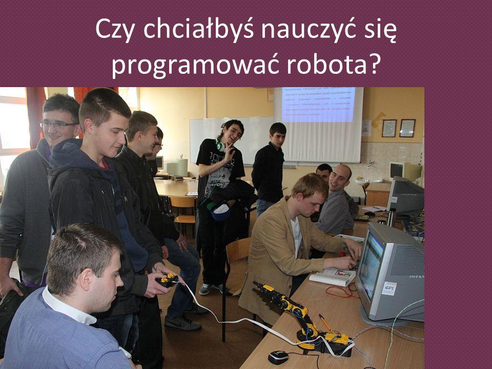 Czy chciałbyś nauczyć się programować robota