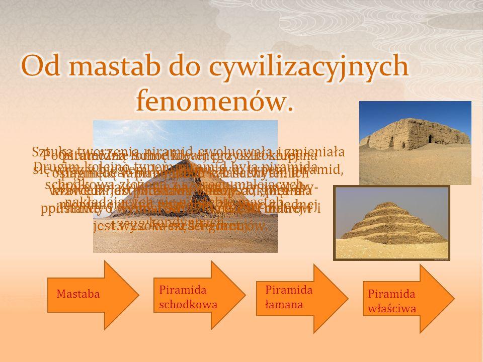 Od mastab do cywilizacyjnych fenomenów.
