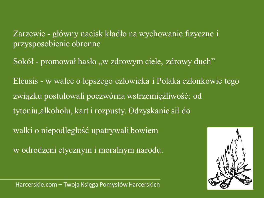 """Sokół - promował hasło """"w zdrowym ciele, zdrowy duch"""