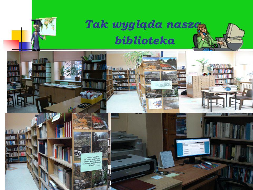Tak wygląda nasza biblioteka