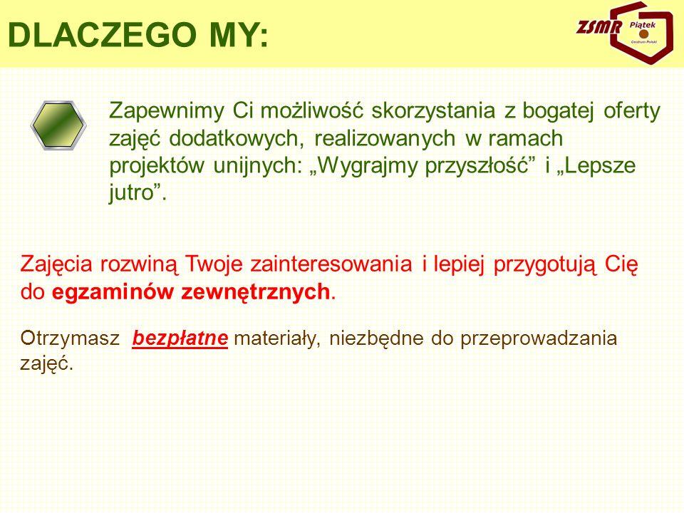 DLACZEGO MY:
