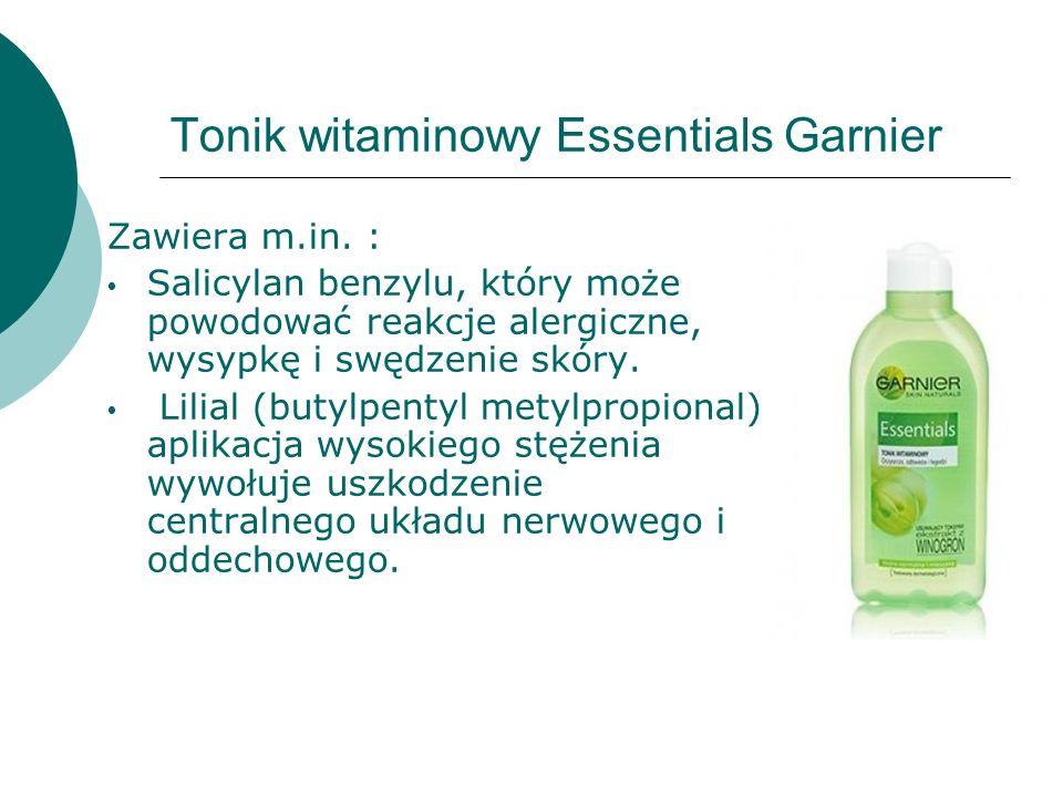 Tonik witaminowy Essentials Garnier