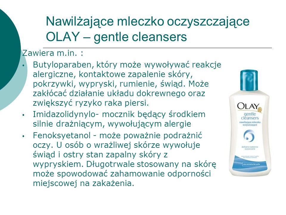 Nawilżające mleczko oczyszczające OLAY – gentle cleansers