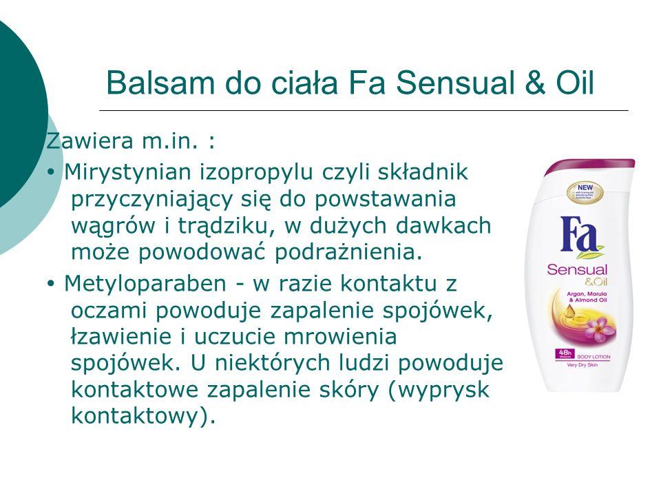 Balsam do ciała Fa Sensual & Oil