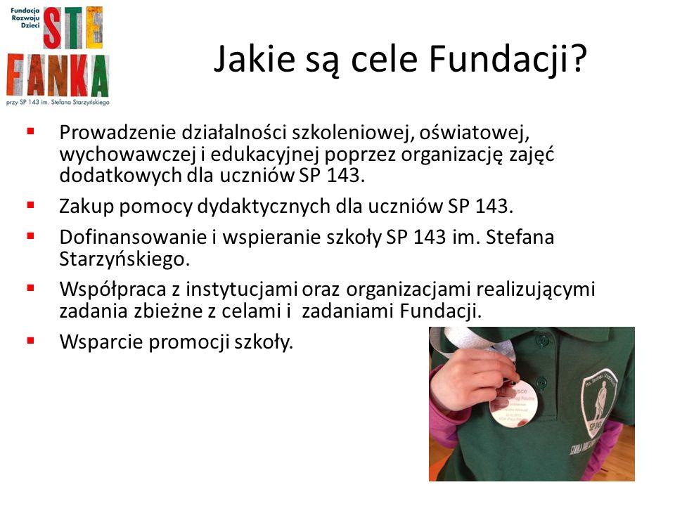 Jakie są cele Fundacji