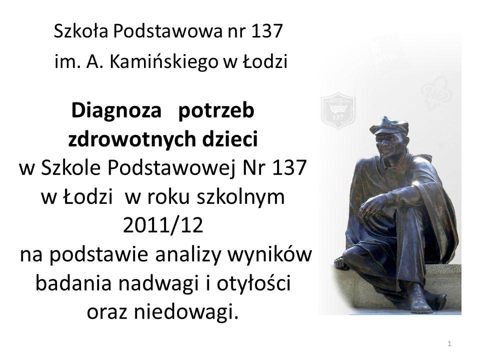 Szkoła Podstawowa nr 137 im. A. Kamińskiego w Łodzi