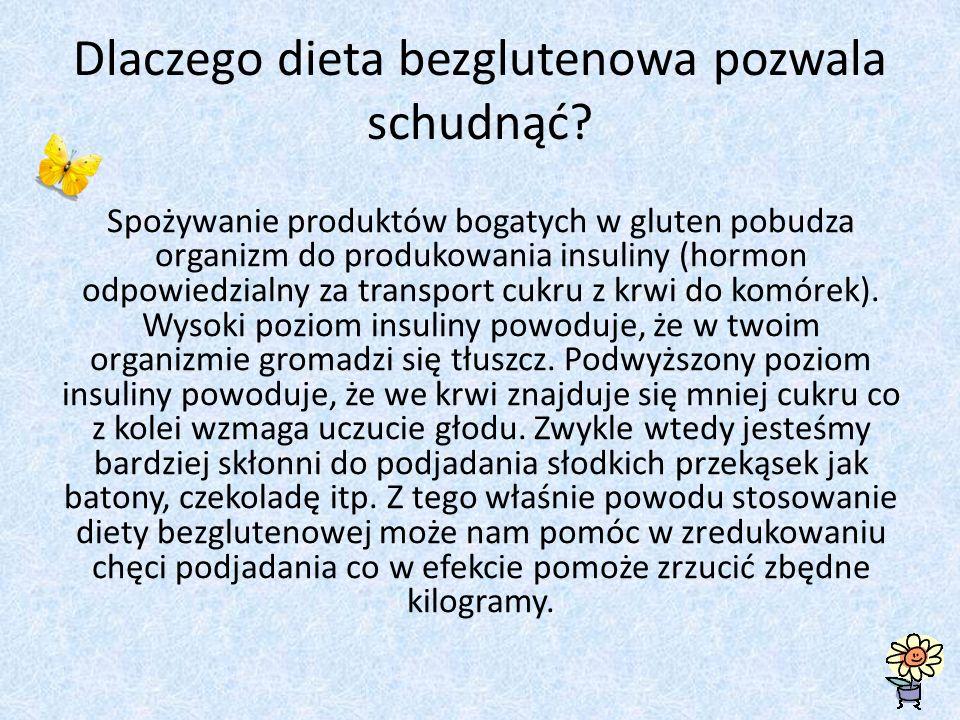 Dlaczego dieta bezglutenowa pozwala schudnąć