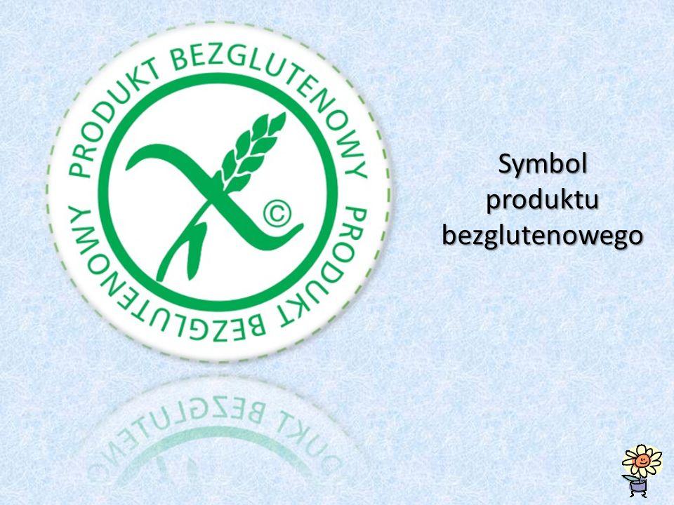 Symbol produktu bezglutenowego