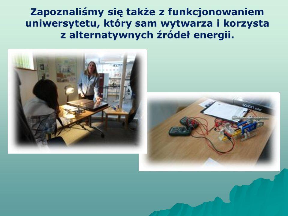 z alternatywnych źródeł energii.