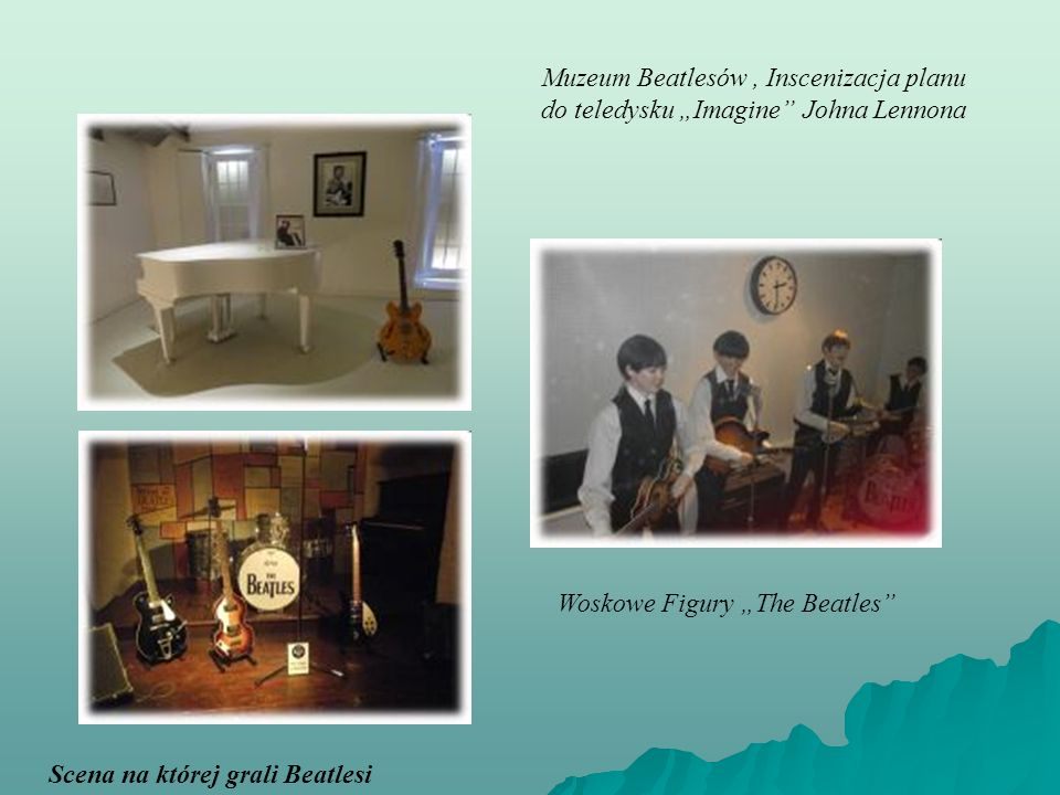 "Muzeum Beatlesów , Inscenizacja planu do teledysku ""Imagine Johna Lennona"