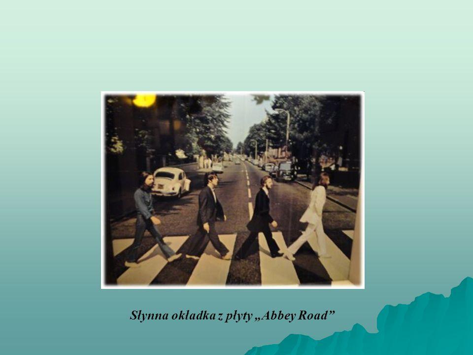 """Słynna okładka z płyty """"Abbey Road"""