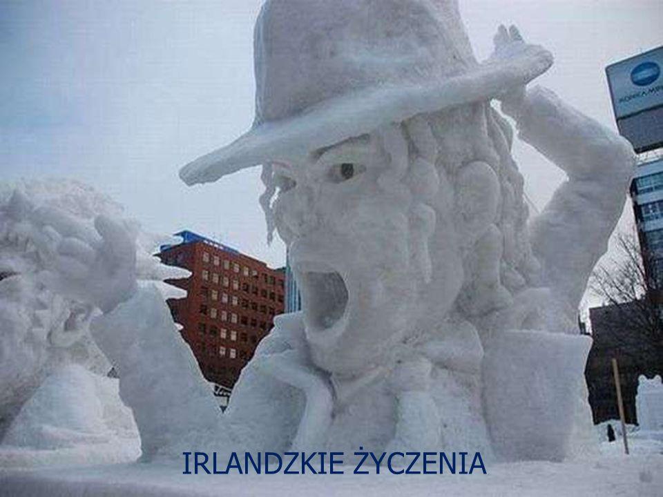 Rzeźby śniegowe IRLANDZKIE ŻYCZENIA