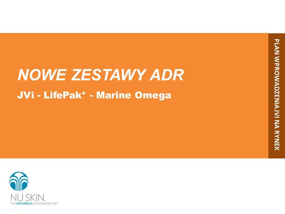 NOWE ZESTAWY ADR JVi - LifePak+ - Marine Omega