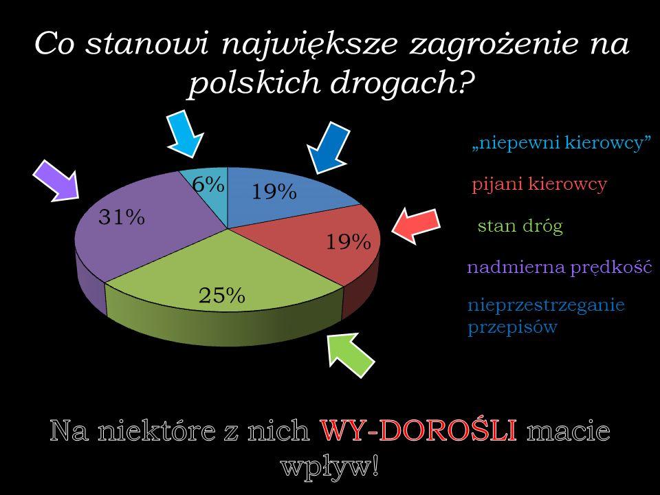 Co stanowi największe zagrożenie na polskich drogach