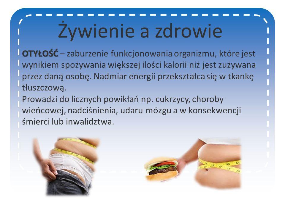 Żywienie a zdrowie