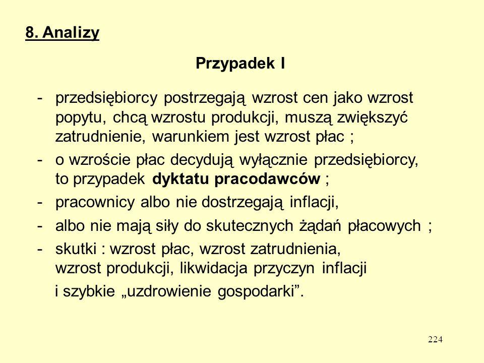 8. Analizy Przypadek I.