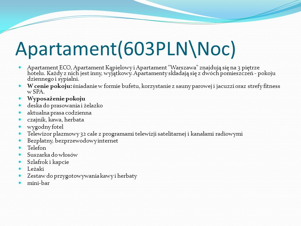 Apartament(603PLN\Noc)