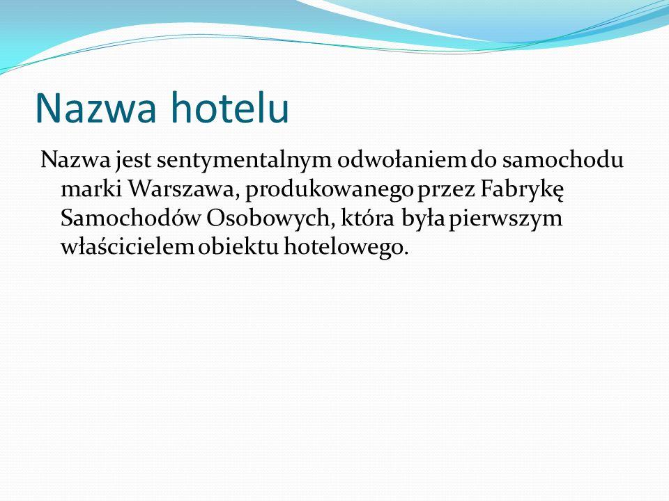 Nazwa hotelu