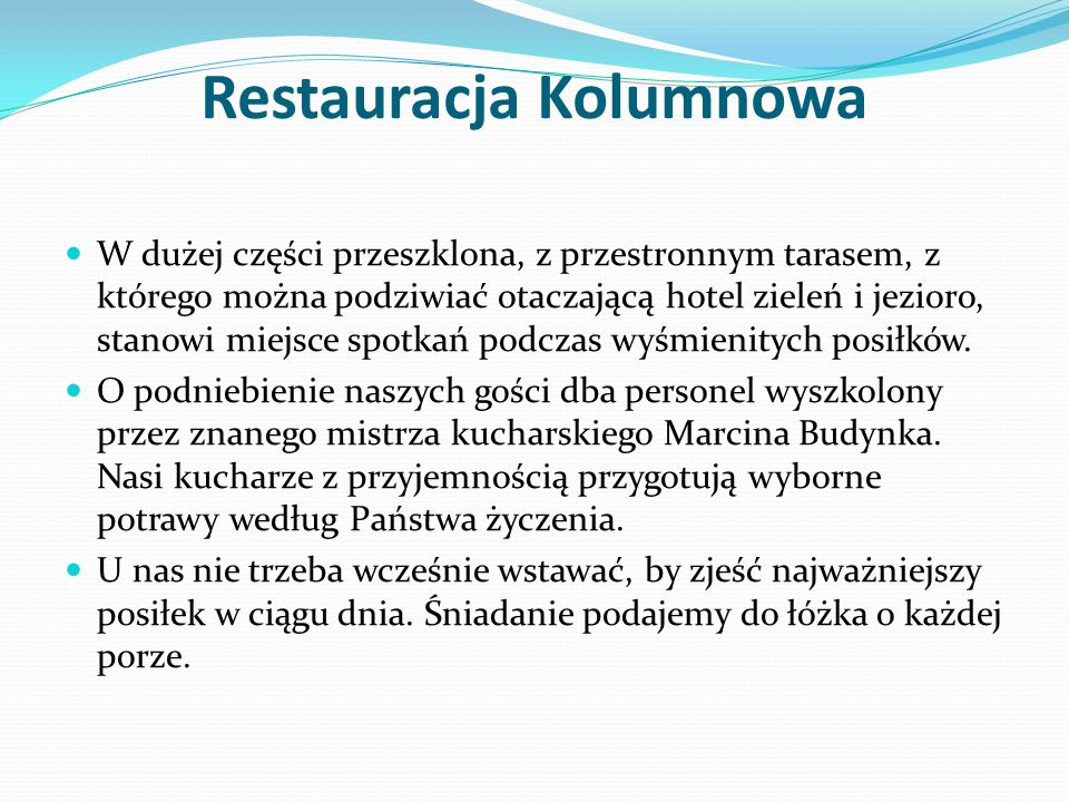 Restauracja Kolumnowa