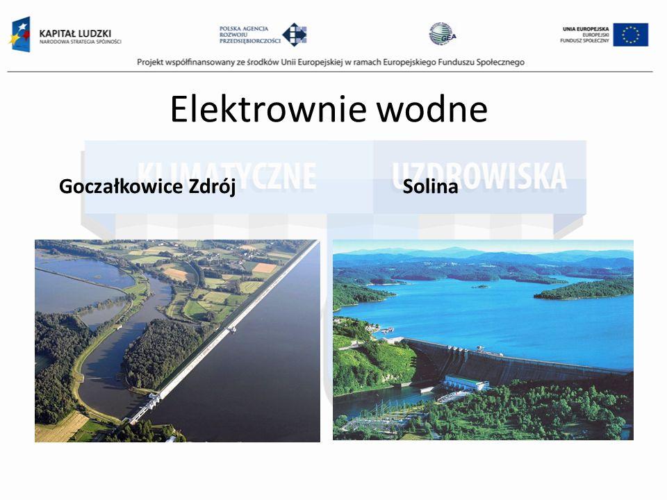 Elektrownie wodne Goczałkowice Zdrój Solina