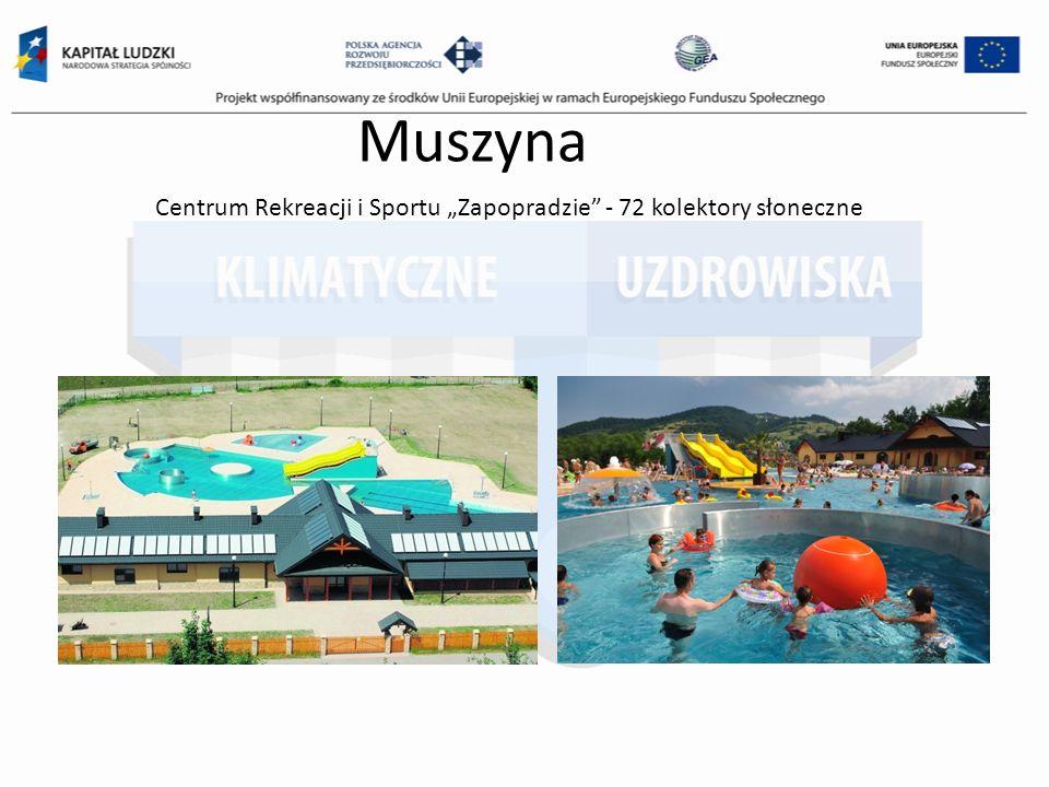 """Centrum Rekreacji i Sportu """"Zapopradzie - 72 kolektory słoneczne"""