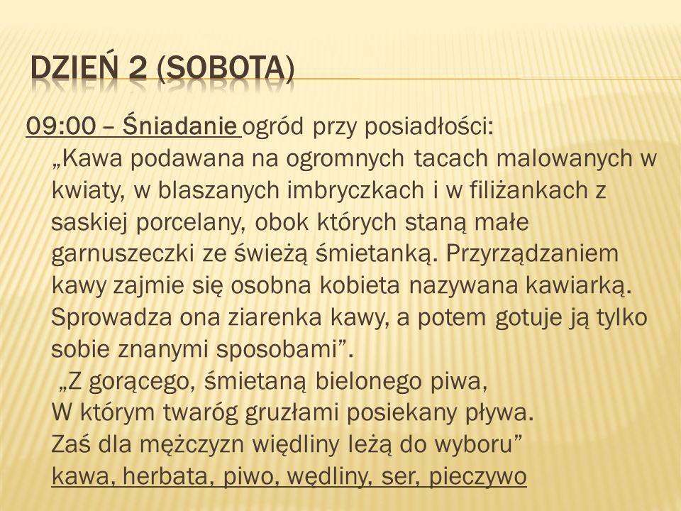 Dzień 2 (Sobota)
