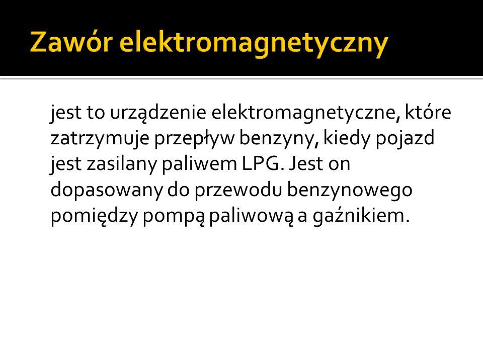 Zawór elektromagnetyczny