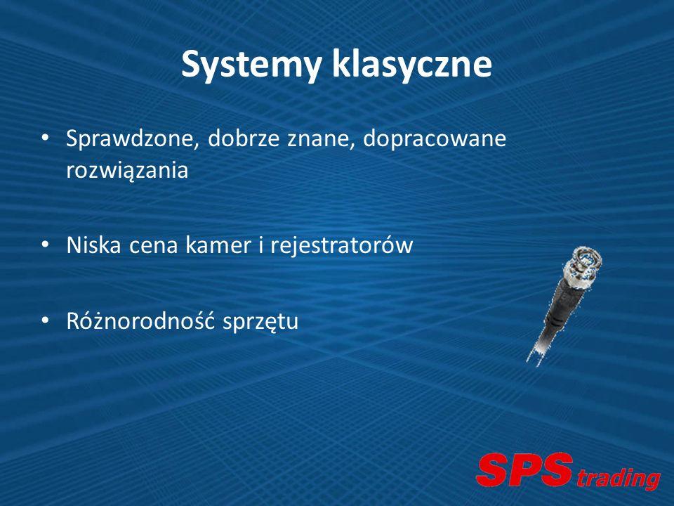 Systemy klasyczne Sprawdzone, dobrze znane, dopracowane rozwiązania