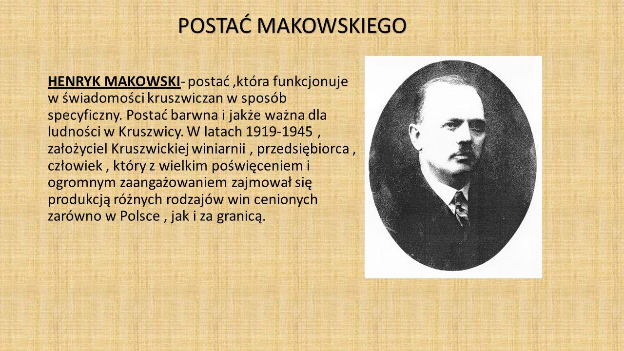 POSTAĆ MAKOWSKIEGO