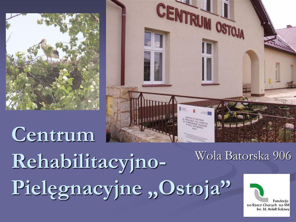 """Centrum Rehabilitacyjno-Pielęgnacyjne """"Ostoja"""
