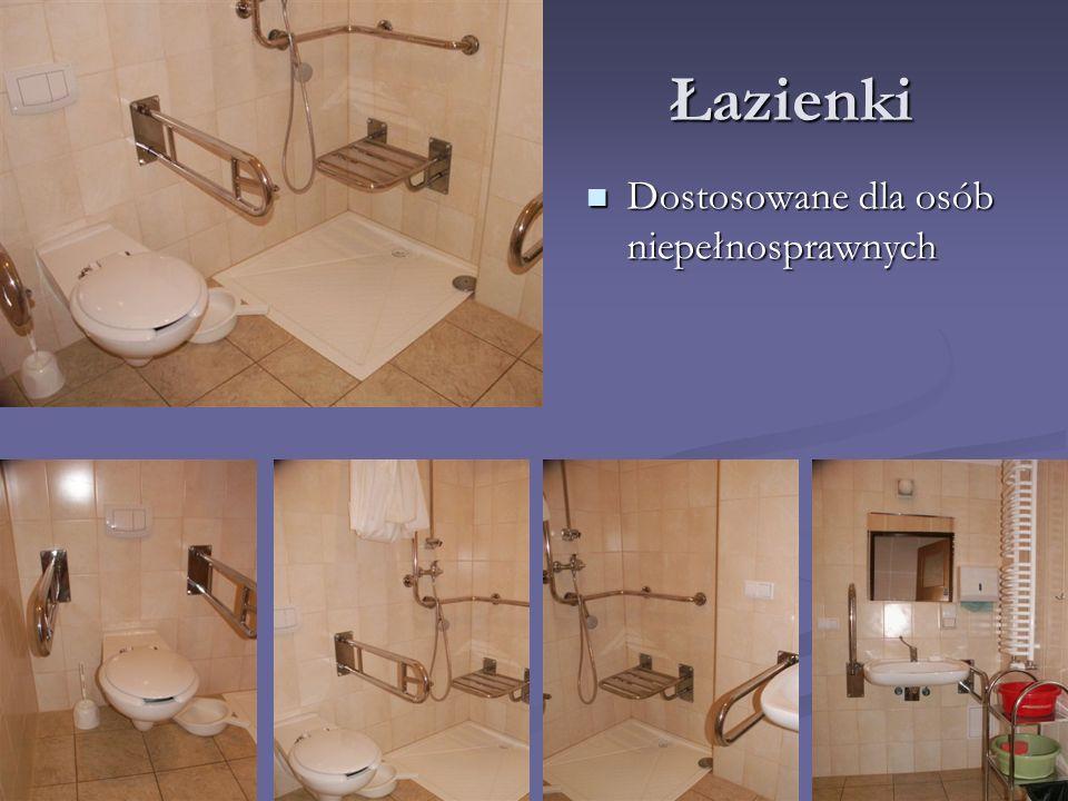 Łazienki Dostosowane dla osób niepełnosprawnych