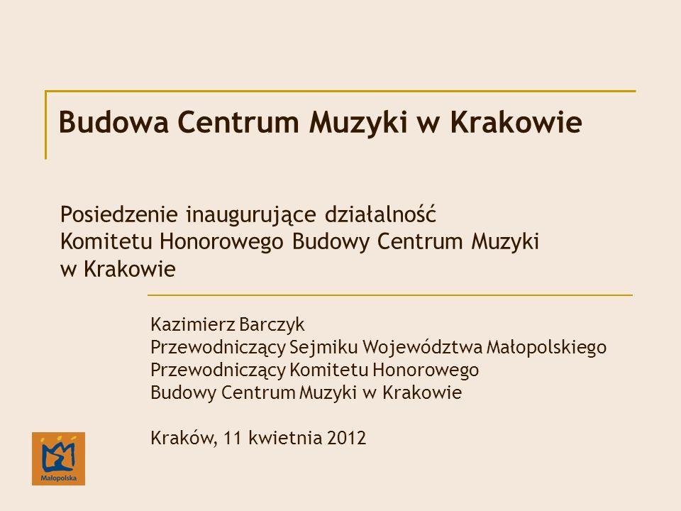 Budowa Centrum Muzyki w Krakowie