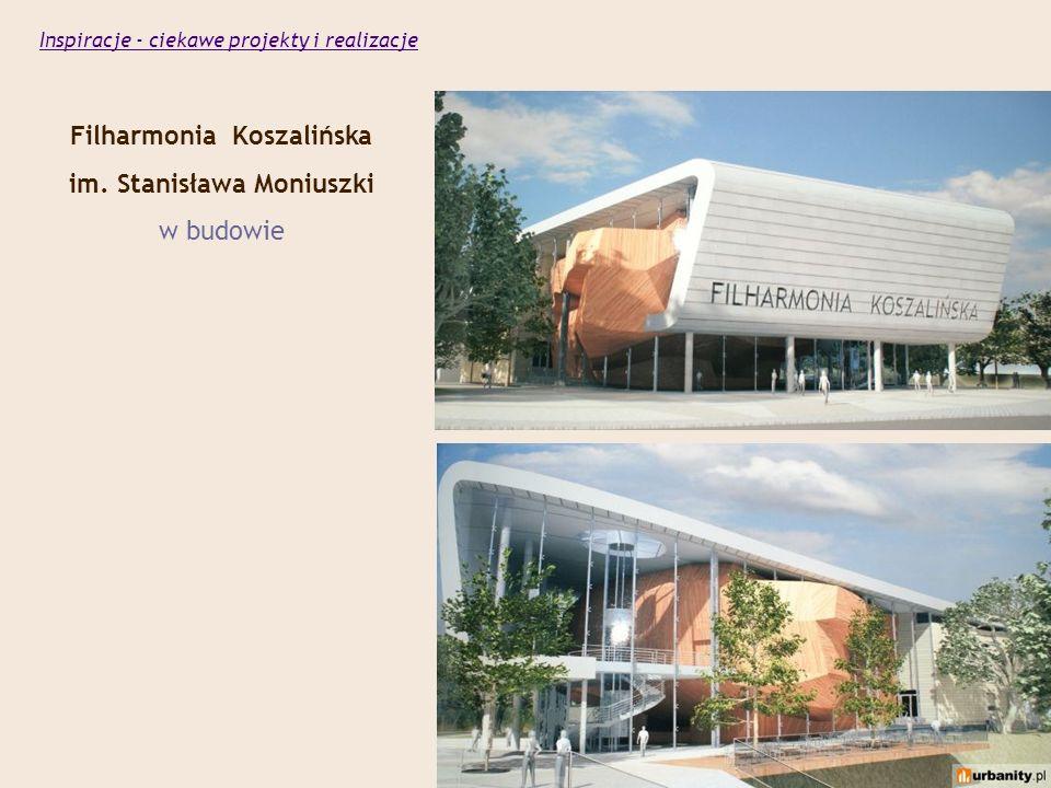 Filharmonia Koszalińska im. Stanisława Moniuszki w budowie