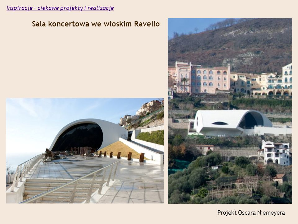 Sala koncertowa we włoskim Ravello