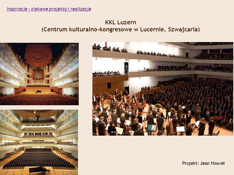 KKL Luzern (Centrum kulturalno-kongresowe w Lucernie, Szwajcaria)