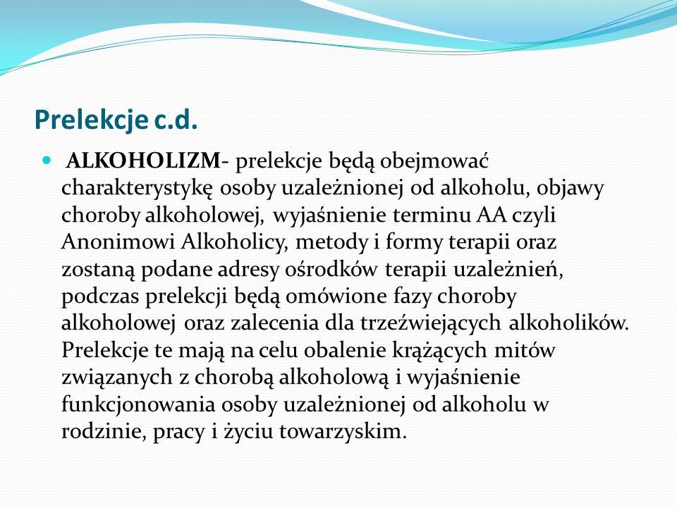 Prelekcje c.d.